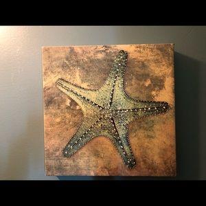 Canvas Seashell Art